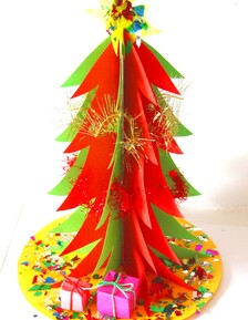 PAPER GIFT TREE