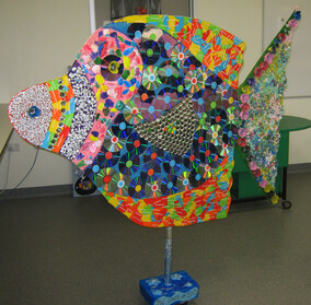 GIANT RECYCLED FISH