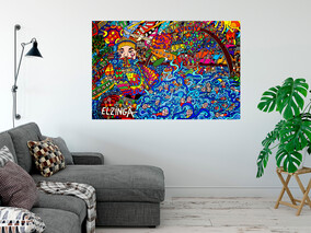 Sydney- (Available Now) won't last long this one! 134cm x 92cm